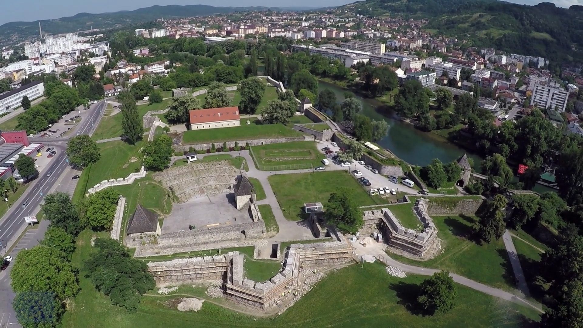 Reconstruction of the Kastel fortress in Banja Luka